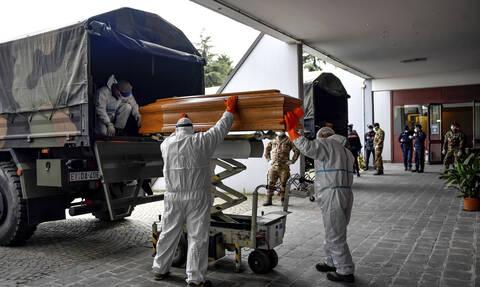 Κορονοϊός: Η «κόλαση» της Ιταλίας - Το χειρότερο 24ωρο με 919 νεκρούς - 5.959 νέα κρούσματα