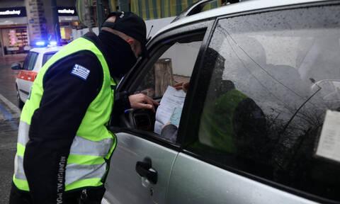 Κορονοϊός – Απαγόρευση κυκλοφορίας : 1.143 παραβάσεις και 9 συλλήψεις σε ένα 24ωρο