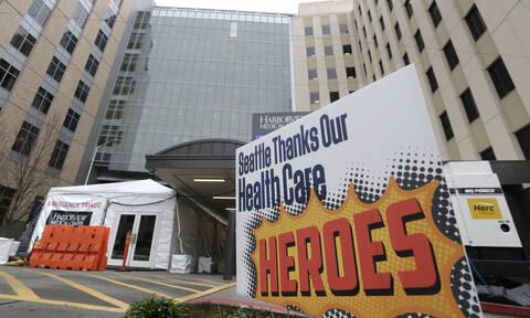 Κορονοϊός ΗΠΑ: Ρεκόρ κρουσμάτων! 453 θάνατοι σε 24 ώρες – Ένα βήμα πριν την καραντίνα η Νέα Υόρκη