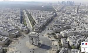 Κορονοϊός: Εικόνες ΣΟΚ από drone! Πόλη «φάντασμα» το Παρίσι (pics)