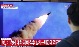 Η Βόρεια Κορέα εκτόξευσε έναν πύραυλο «άγνωστου τύπου»