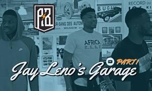 Οι αδελφοί Αντετοκούμπο, ο Γιάννης, ο Θανάσης και ο Κώστας επισκέπτονται το «Jay Leno's Garage»