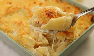 Η συνταγή της ημέρας: Κοχύλια με τέσσερα τυριά στο φούρνο