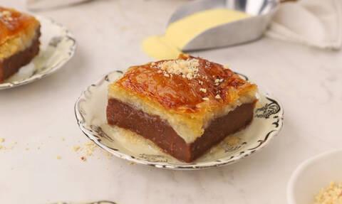 Η συνταγή της ημέρας: Γαλακτομπούρεκο με σοκολάτα