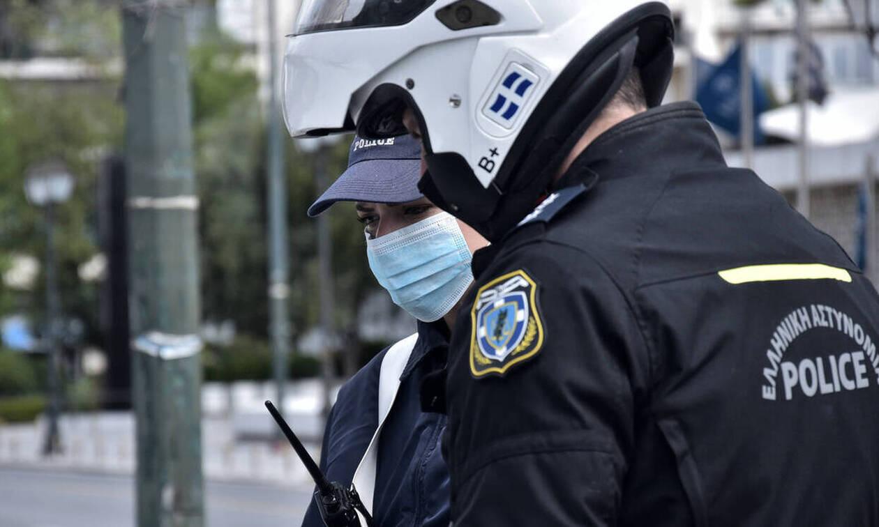 Κορoνοϊός - Απαγόρευση κυκλοφορίας: 1.400 παραβάσεις και 7 συλλήψεις το Σάββατο