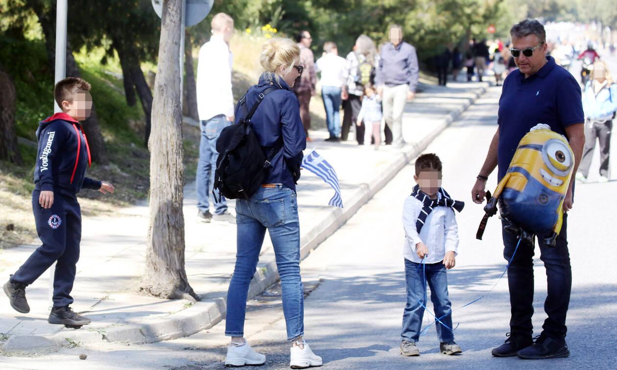 Η Σκορδά μετά την καραντίνα πήγε τα παιδιά στον Γιώργο Λιάγκα! Φωτό από το σπίτι του παρουσιαστή