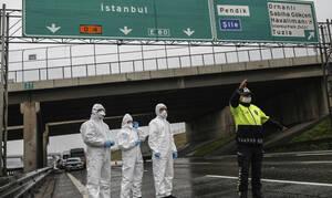 Κορονοϊός Τουρκία: Σε καραντίνα 39 κατοικημένες περιοχές για να περιοριστεί η διασπορά του ιού