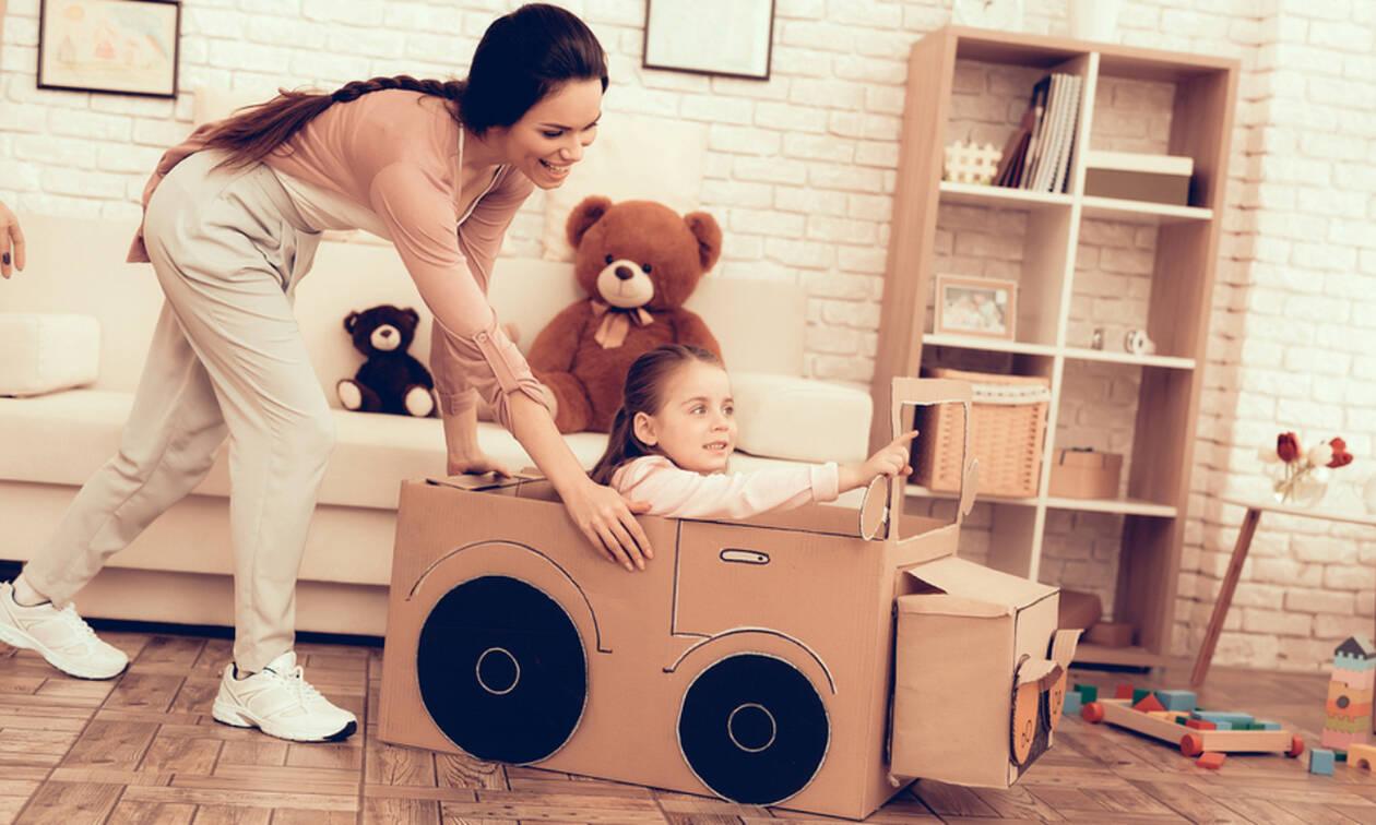 Δραστηριότητες μέσα στο σπίτι για παιδιά 5-10 ετών (pics+vid)
