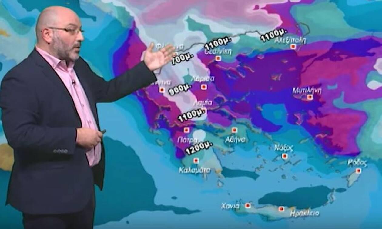 Καιρός: Συνθήκες χειμωνιάτικου τύπου την Τετάρτη; Πού θα χιονίσει; Η ανάλυση του Αρναούτογλου...