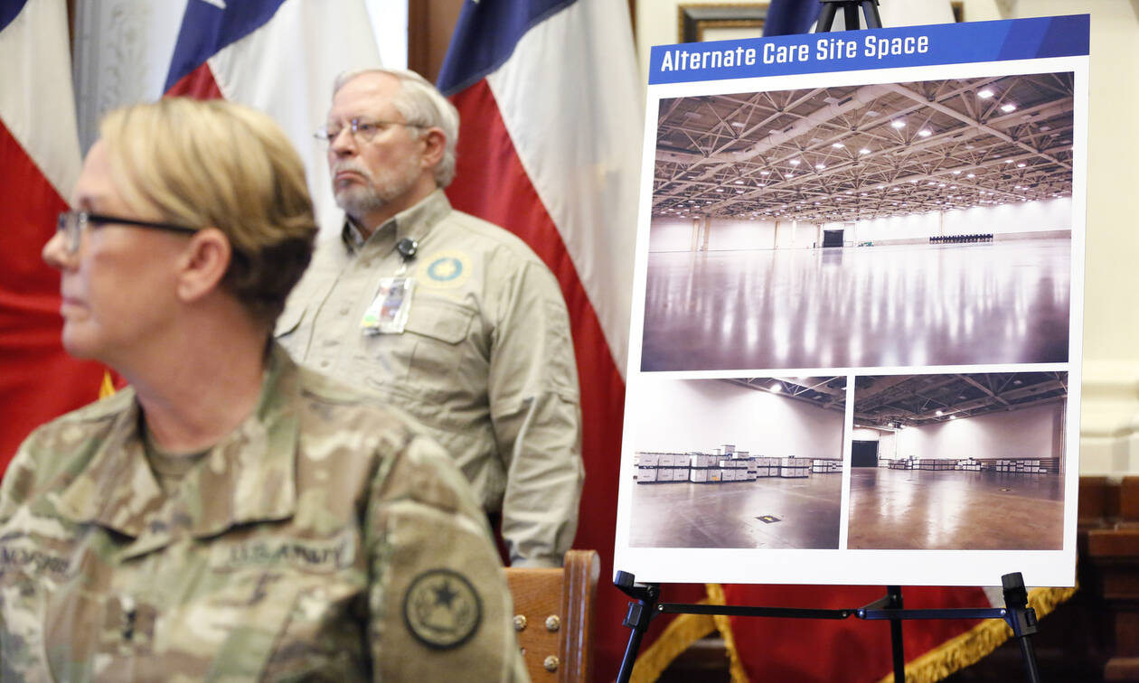 Κορονοϊός ΗΠΑ: Ο στρατός θα κατασκευάσει εκατοντάδες προσωρινά νοσοκομεία για την πανδημία
