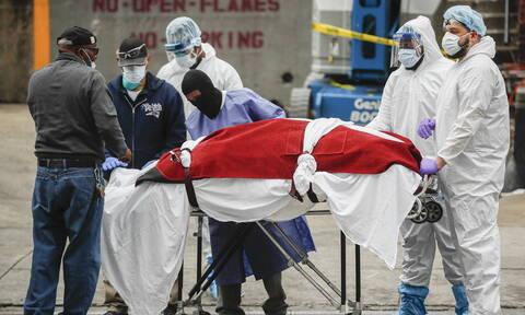 Κορονοϊός στις ΗΠΑ: 865 θάνατοι μέσα 24 ώρες - 188.172 τα κρούσματα του COVID-19