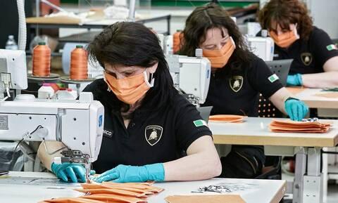 Κορονοϊός: H Lamborghini θα κατασκευάζει μάσκες και καλύμματα από πλέξιγκλας