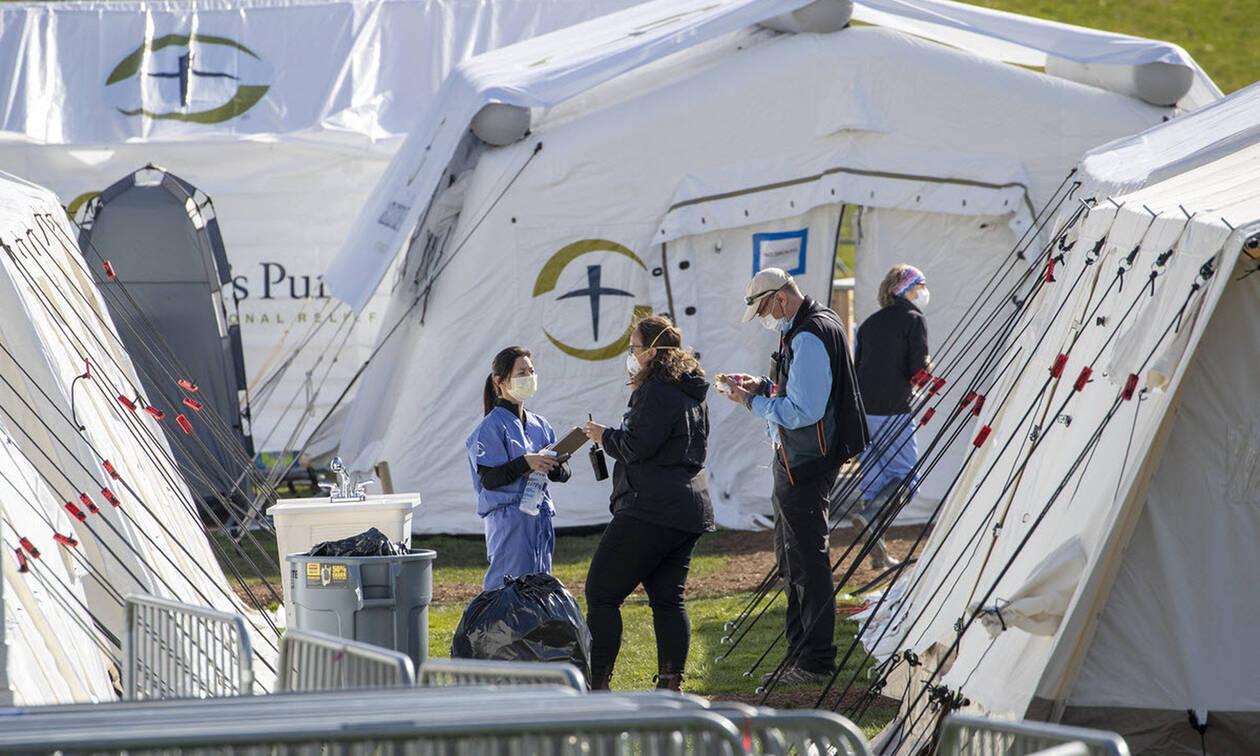 Κορονοϊός: Τραγωδία δίχως τέλος στις ΗΠΑ με νέο ρεκόρ νεκρών - Πάνω από 5.000 ο αριθμός των θυμάτων