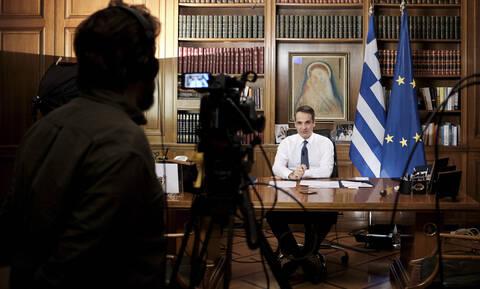Μητσοτάκης στο CNN: Μας περιμένει σκληρή δουλειά - Η ελληνική κοινωνία επέδειξε αλληλεγγύη