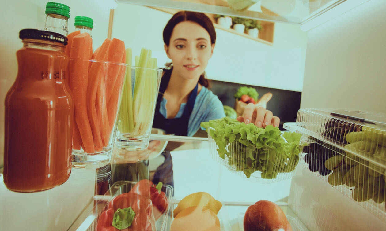Έτσι θα διατηρήσετε τα φρούτα & τα λαχανικά φρέσκα στο ψυγείο σας (vids)