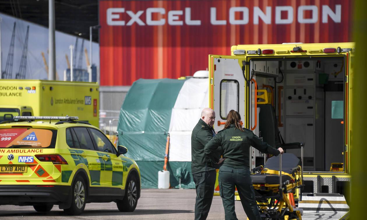 Κορονοϊός: Σε ρυθμούς Ιταλίας η Βρετανία - 569 νεκροί σε ένα 24ωρο