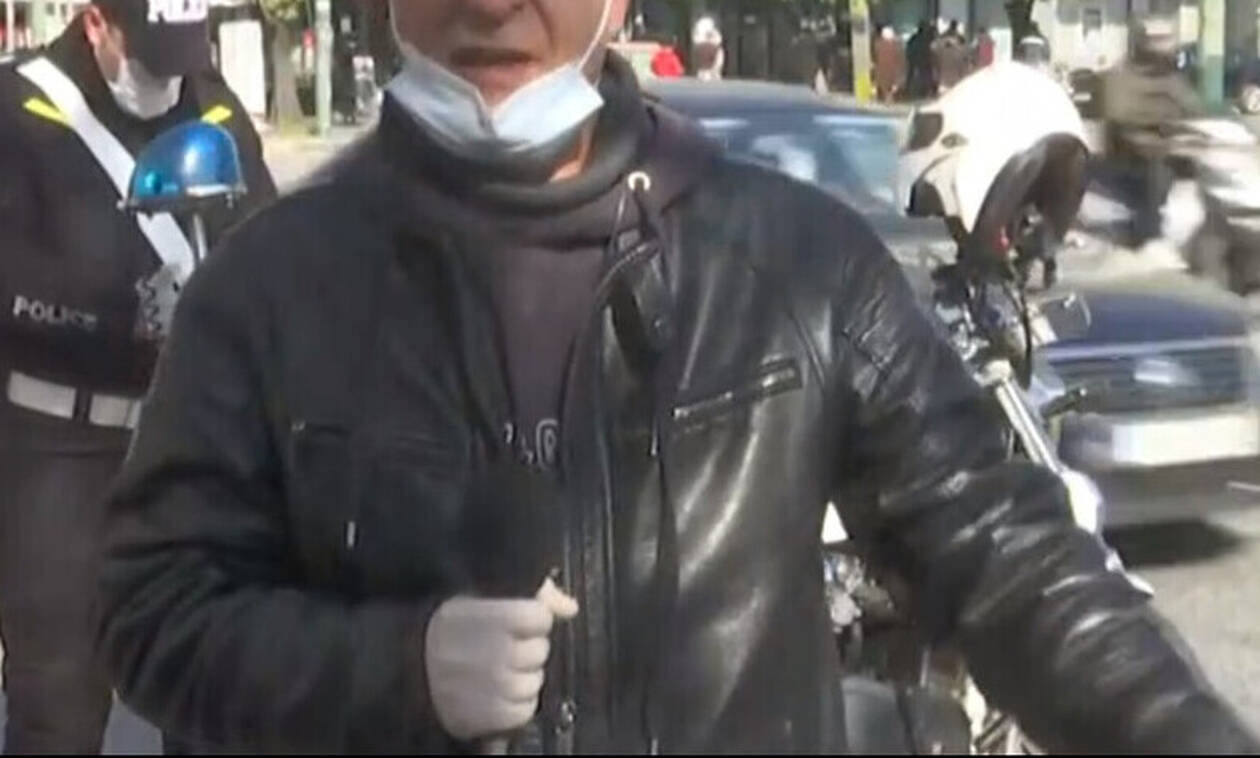 Koρονοϊός: Ο Έλληνας δημοσιογράφος που λέει στον κόσμο να φοράει μάσκες
