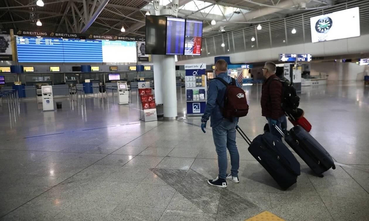 Κορονοϊός: Πτώση 61,3% στην επιβατική κίνηση του «Ελ. Βενιζέλος» τον Μάρτιο λόγω της πανδημίας