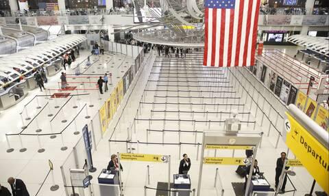 Κορονοϊός ΗΠΑ: Η εναέρια επιβατική κίνηση καταγράφει τη μεγαλύτερη πτώση της από την 11η Σεπτεμβρίου