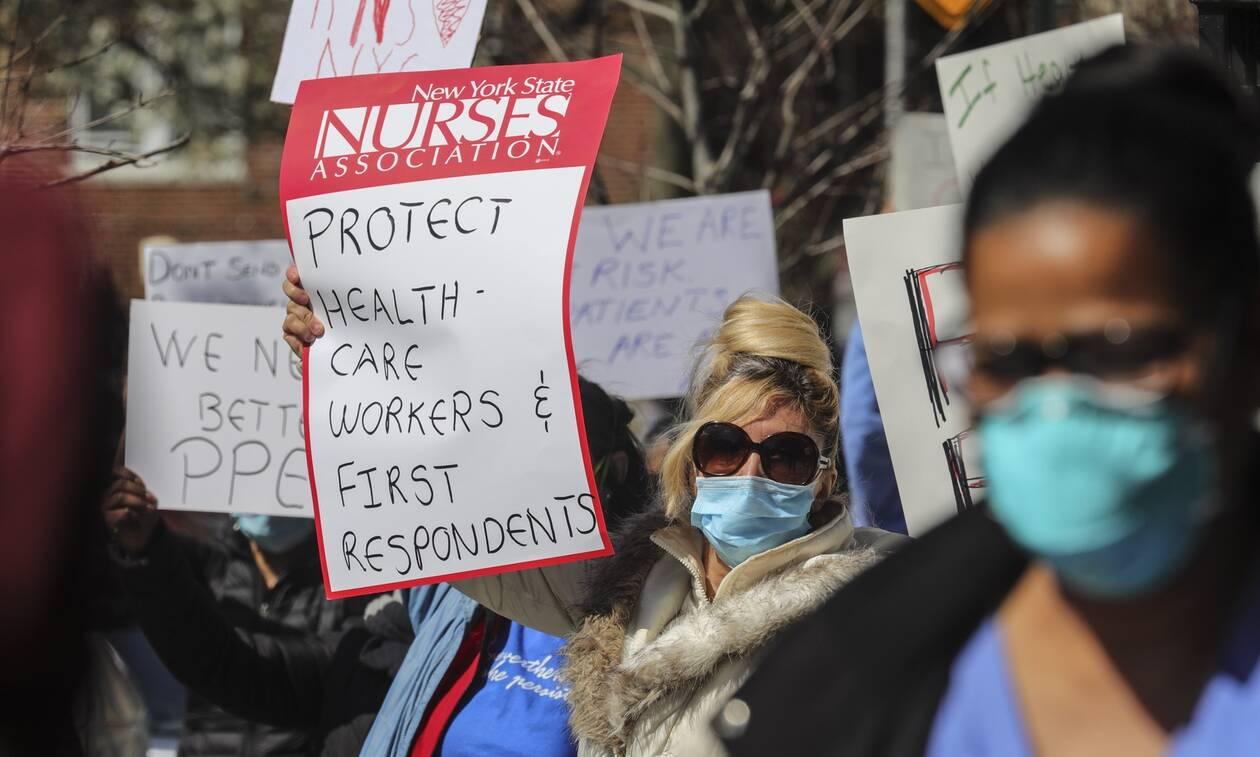 Κορονοϊός ΗΠΑ: Η Νέα Υόρκη έχει απόθεμα αναπνευστήρων για 6 ημέρες