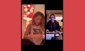Η μουσική συνάντηση της Δέσποινας Βανδή με τον Δημήτρη Κοντόπουλο που... έριξε το instagram! (video)