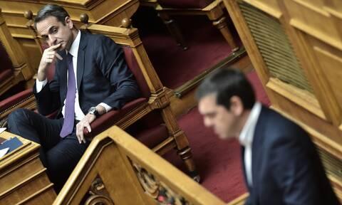 Δημοσκόπηση: Ποια είναι η διαφορά ΝΔ – ΣΥΡΙΖΑ εν μέσω κορονοϊού