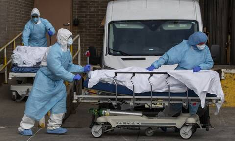 Κορονοϊός: Σοκαριστικός απολογισμός στις ΗΠΑ - 1.169 θάνατοι μέσα σε 24 ώρες