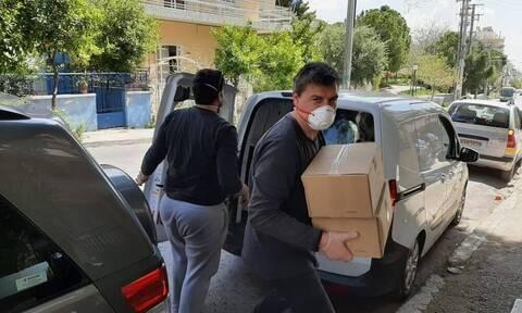 Ο Δήμος Αγίας Βαρβάρας προβαίνει σε κατ'οίκον διανομή των αγαθών προς τους δικαιούχους Τ.Ε.Β.Ε.
