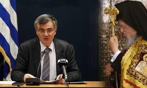 Κορονοϊός: Τσιόδρας και Βαρθολομαίος συνομίλησαν για την πανδημία