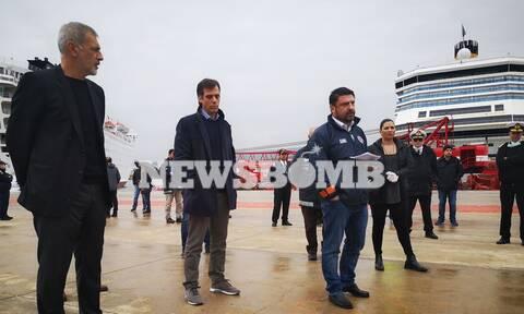 Κορονοϊός – Χαρδαλιάς: Τι δήλωσε για το «πλοίο-βόμβα» Ελ. Βενιζέλος
