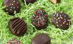 Γλυκάκια με σοκολάτα και φυστικοβούτυρο