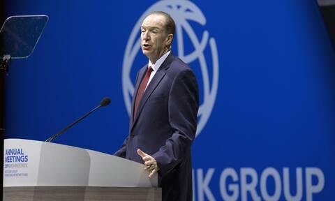 Κορονοϊός: Η Παγκόσμια Τράπεζα προβλέπει «μεγάλη παγκόσμια ύφεση» εξαιτίας της πανδημίας