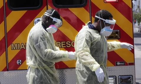 Κορονοϊός στις ΗΠΑ: Δραματική αύξηση των νεκρών - 1.480 θάνατοι μέσα σε 24 ώρες