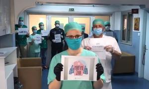 Κορονοϊός: Συγκινητικό βίντεο μέσα από το Μαμάτσειο νοσοκομείο Κοζάνης - Ένα μήνυμα για όλους