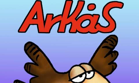 Κορονοϊός: Το νέο σκίτσο-μήνυμα του ηλικιωμένου Αρκά (photos)