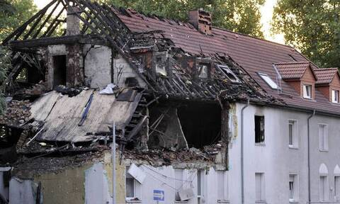 Κατέρρευσε πολυκατοικία στη Μόσχα μετά από έκρηξη – Τουλάχιστον ένας νεκρός