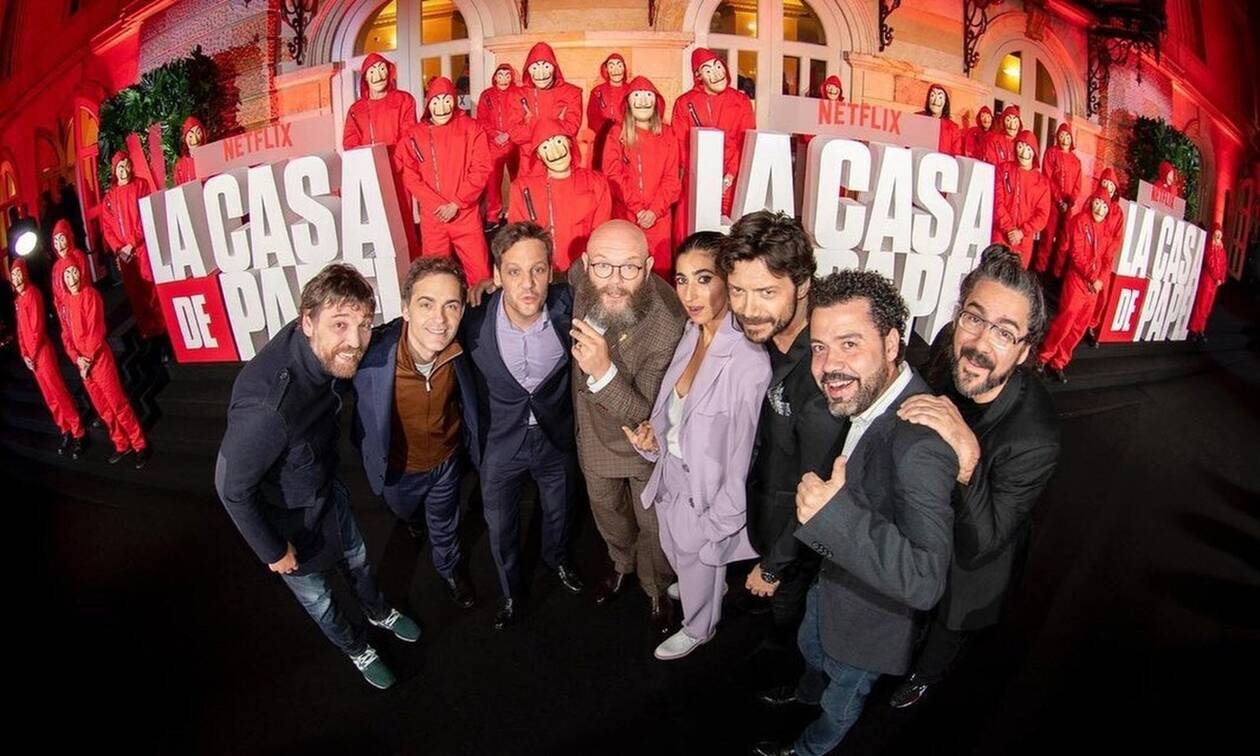 La Casa de Papel: Έτσι είδαν την πρεμιέρα οι πρωταγωνιστές σε καραντίνα (pics)