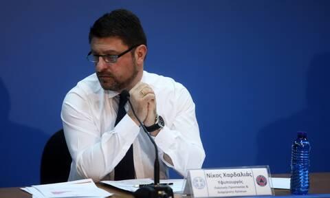 Κορονοϊός - Χαρδαλιάς: Τέλος η αλλαγή του τόπου κατοικίας όσο διαρκεί η απαγόρευση κυκλοφορίας