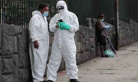 Κορονοϊός - Ισημερινός: Οι Αρχές αποθηκεύουν νεκρούς σε ψυχόμενα κοντέινερ