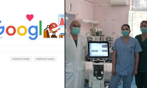 Ένα μεγάλο ευχαριστώ σε όλους όσοι μάχονται ενάντια στον κορονοϊό από τη Google