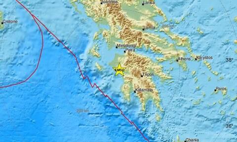 Σεισμός κοντά στον Πύργο Ηλείας (pics)