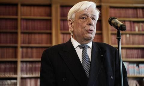 Κορονοϊός: Τηλεφωνική επικοινωνία Προκόπη Παυλόπουλου - Αρχιεπισκόπου Αμερικής Ελπιδοφόρου