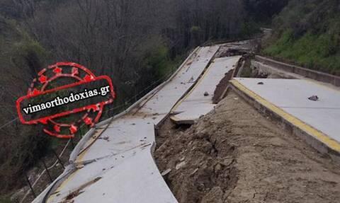 Κακοκαιρία: Προς κατάσταση έκτακτης ανάγκης το Άγιον Όρος - Σοκάρουν οι εικόνες