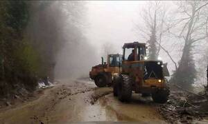 Θεσσαλία: Εκτεταμένα προβλήματα λόγω κακοκαιρίας στον δήμο Ζαγοράς – Μουρεσίου