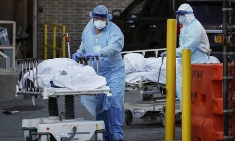 Κορονοϊός στις ΗΠΑ: 1.150 νέοι θάνατοι μέσα σε 24 ώρες - Ξεπέρασαν τους 10.000 οι νεκροί