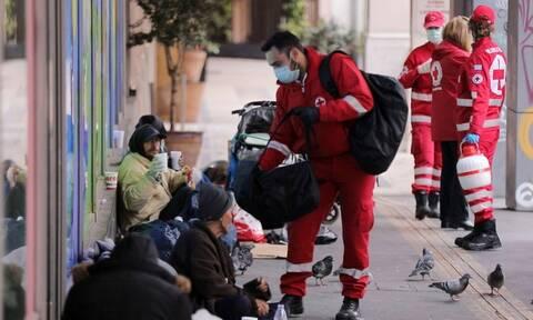 Τεράστια η προσφορά του Ελληνικού Ερυθρού Σταυρού στην κρίση του κορονοϊού