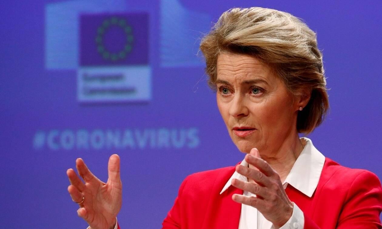 ΕΕ: «White Deal» για την Υγεία προτείνει η Ούρσουλα φον ντερ Λάιεν