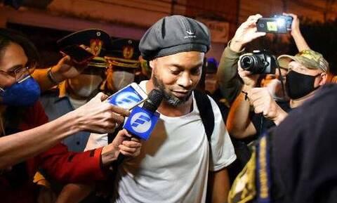 Αποφυλακίστηκε ο Ροναλντίνιο (video)
