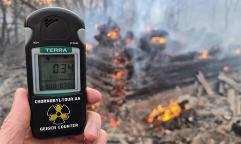 Φωτιά στο Τσερνόμπιλ: Τι έδειξαν οι ραδιολογικές μετρήσεις για την Ελλάδα
