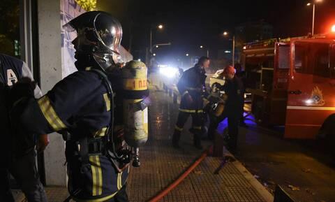 Μεγάλη πυρκαγιά σε κατάστημα στη Λαχαναγορά του Ρέντη